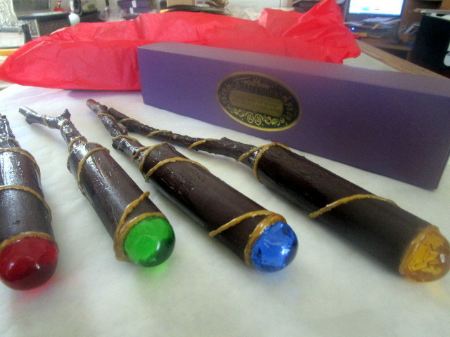 Wizarding House Color Handmade Wand elf211345