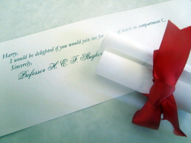 Double roll tied with ribbon