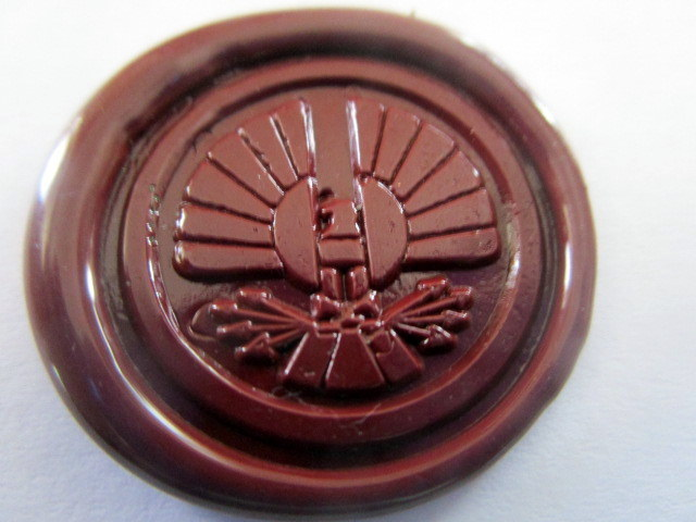 Starving Games District or Jay Wax Seals (10) elf00030