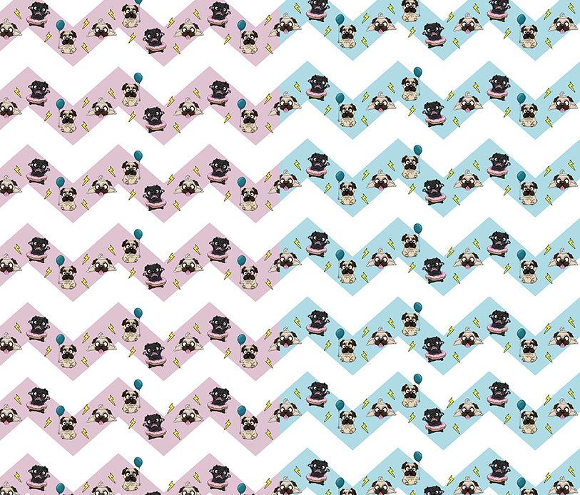 Collar Pug party COL-PPY