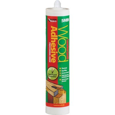 Lumberjack PU Glue 5 minute  D4 Strength 310ml Interior & Exterior