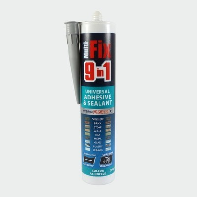 9in1 Adhesive & Sealant 290ml Interior & Exterior
