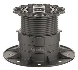 Eurotec Profi Line L -  Feet with Paving Slab Adaptors - 70mm - 117mm