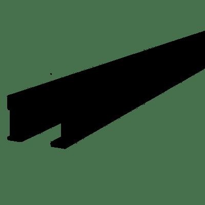 60mm x 40mm x 4000mm Aluminium Joist - Black