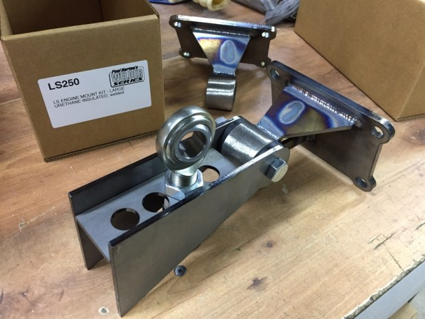 Shown with steering shaft bearing support (not included)