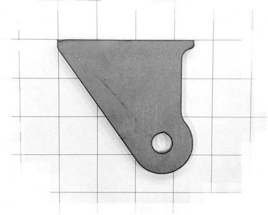 Frame Plate; 3-1/2″ x 3-1/4″ 222012