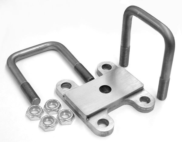 Front Clamp Plate & U-Bolt Kit WS15700