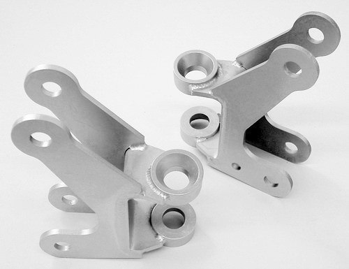 Axle bracket kit, front four link, ready to weld 14110