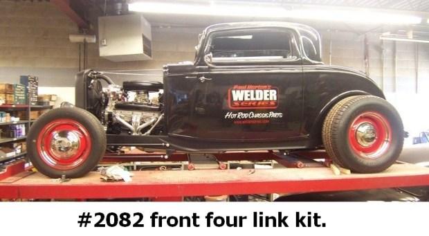 1932-34 Ford fenderless kit.