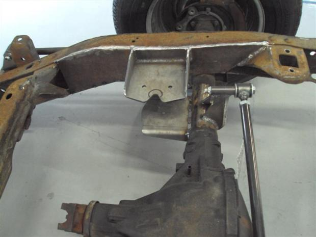 Air spring frame bracket