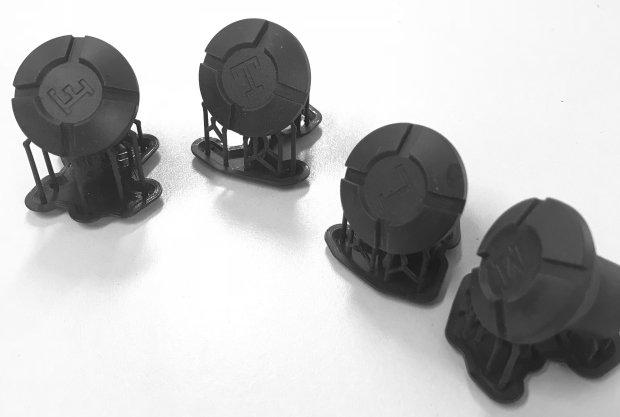 Dash Knob Set - Sweptline Style for Gen IV
