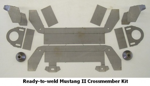 Mustang II Crossmember Kit, for Coil Springs