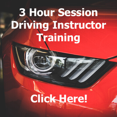 Driving Instructor Training Session (3 Hours)