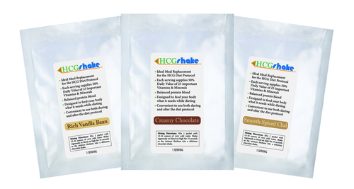 HCG Shake Sample Three Pack Sample