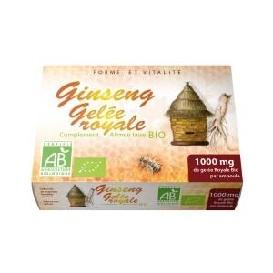 Gelée royale + Ginseng Bio
