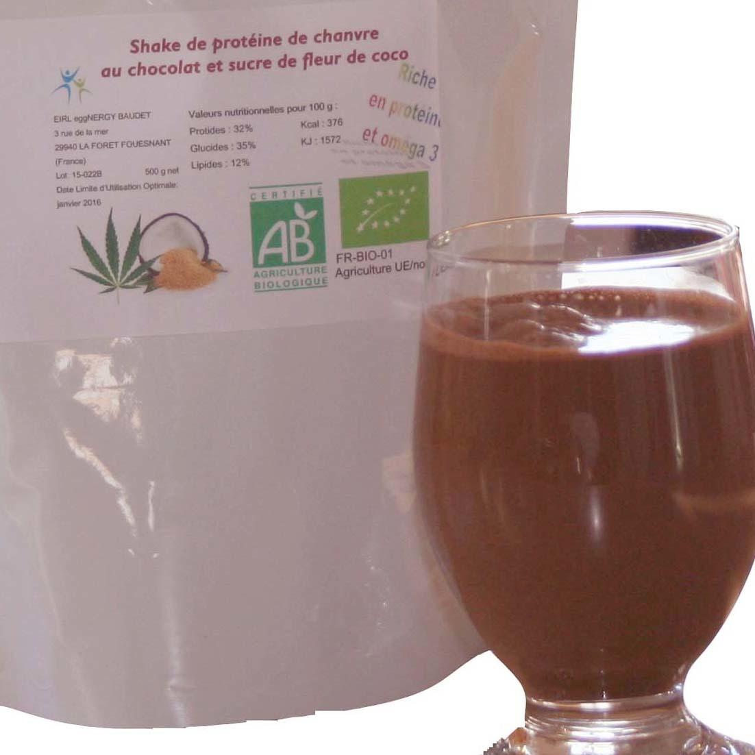 CHANVRE + CACAO + COCO en 1 kg 00315