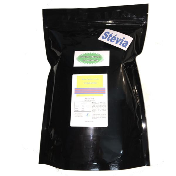 Blanc d'oeuf plein-air sucré à la stévia - 1kg 00384