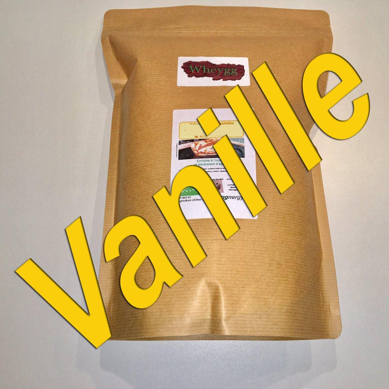 Wheygg bio : Vanille (nouvelle formule - IG BAS) 00412