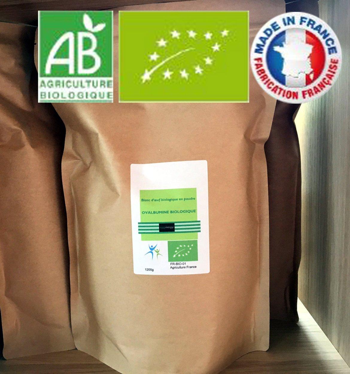 4 kg Code 0 Blanc d'oeuf bio poudre 00286