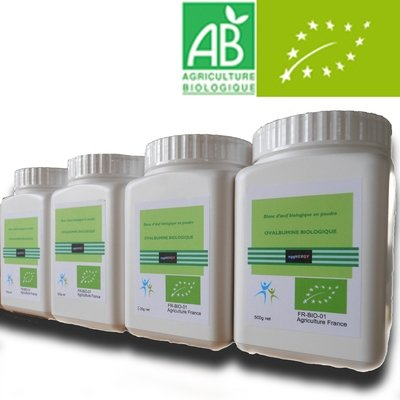 Bio Code 0 Blanc d'oeuf poudre: 4 x 500 g