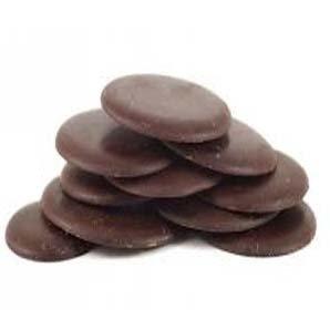 Grands boutons de chocolat 74% bio en 200 g