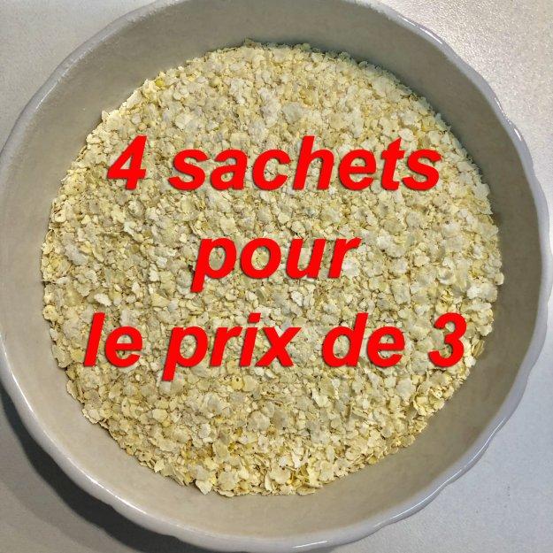 Flocons de millet bio: 1 kg. 00449