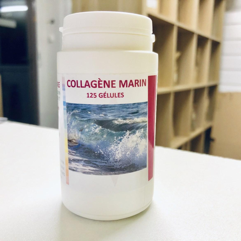 Collagène: pot de 125 gélules