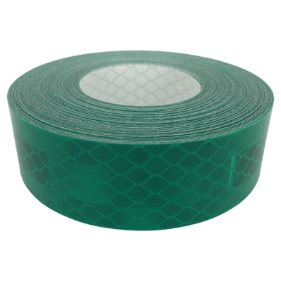 High Intensity Reflective Tape - Green