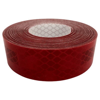 High Intensity Reflective Tape - Red