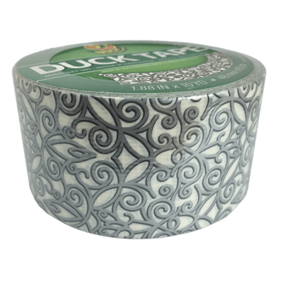 Duck Tape, Silver Scroll Duct Tape
