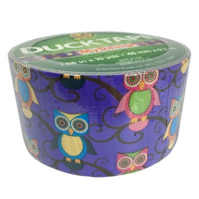 Duck Tape, Retro Owl Duct Tape