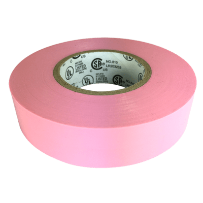 Bubblegum Pink Electrical Tape (Yongle)