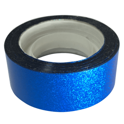 Budget Metallic Dust Tape, Blue