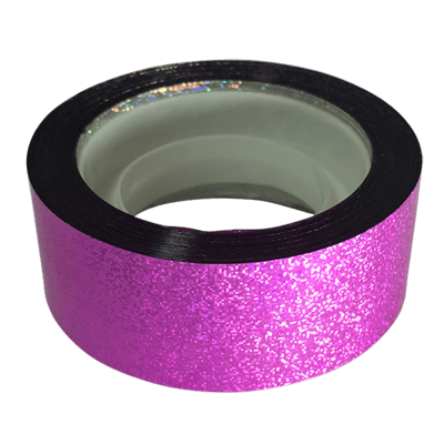 Budget Metallic Dust Tape, Pink
