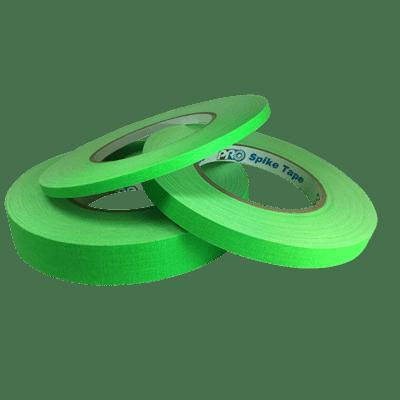 Matte Gaffer Tape, Fluorescent Green (Pro-Gaff)