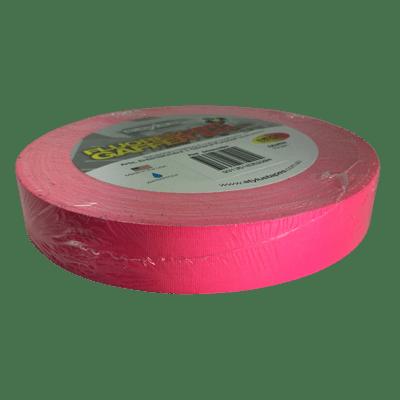 Economy Matte Gaffer Tape, Fluorescent Pink (Stylus)