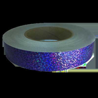 Holographic Sequin Tape, Purple Daze