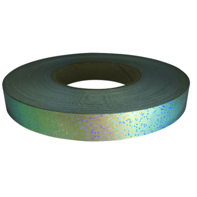 Holographic Sequin Tape, Blue Galaxy