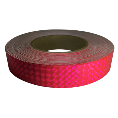Prismatic Tape, Fluorescent Pink
