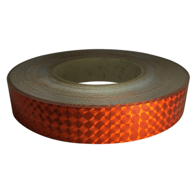 Prismatic Tape, Fire Orange