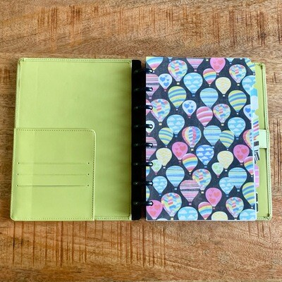2020 Planner - Green Leather Cover (Personal Size)