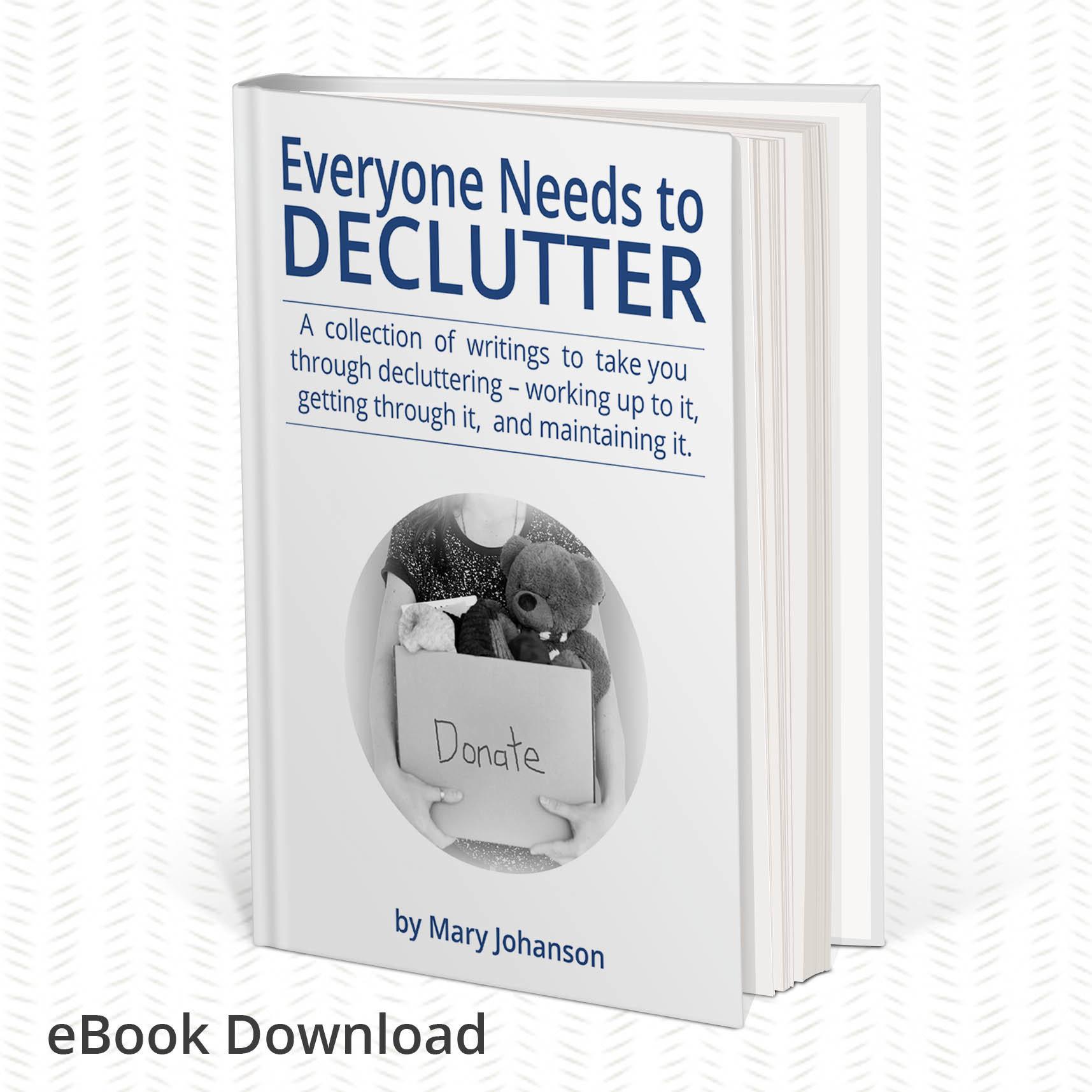 eBook: Everyone Needs to Declutter 00150