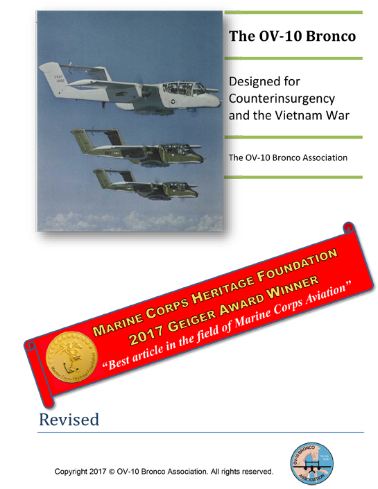 The OV-10 Bronco: Designed for Counterinsurgency and the Vietnam War (Electronic Edition) VSOV-102016