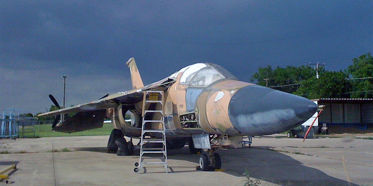 Donation - Save-A-Plane - F-111 Aardvark