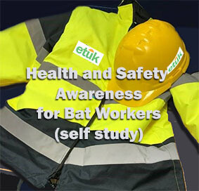 **NEW** Health and Safety Awareness for Bat Workers Self Study Course
