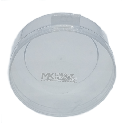 See Through Mouth Call Hinged Lid Case