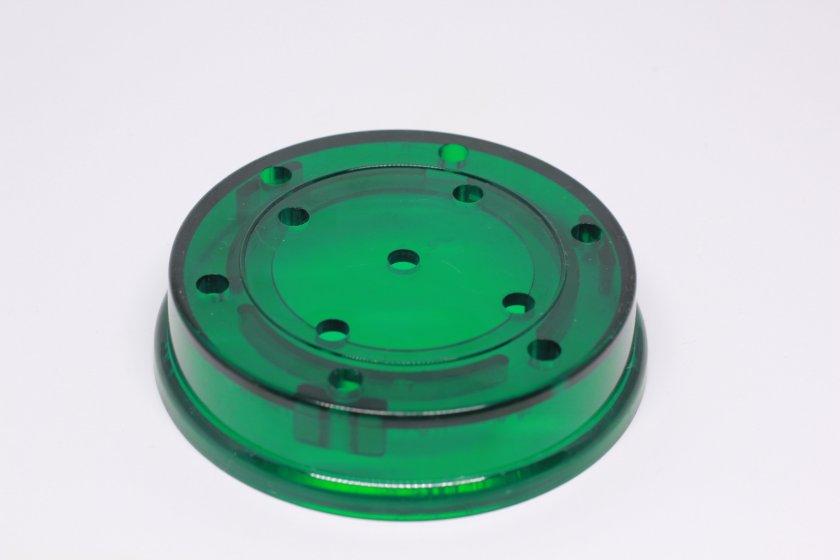 "Turkey Call Pot Green 3/1/2"" Slate or Glass 3"" sound Board 00268"