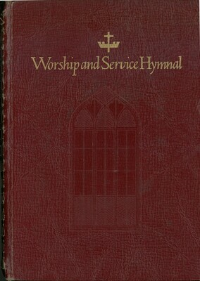 Worship and Service Hymnal, Spiral Bound, Hope Publishing USED COPY