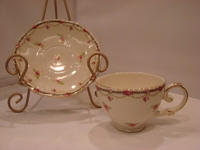 Gracie China Tea Cup and Saucer