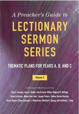 Lectionary Sermon Series: Thematic Plans for Years A. B. and C